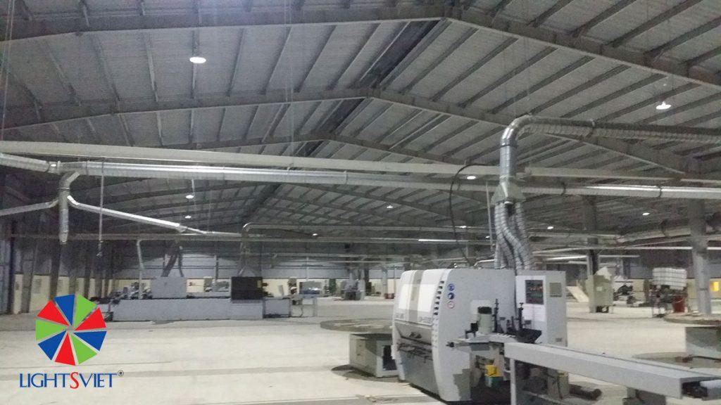 Đèn LED nhà máy gỗ Trường Thành
